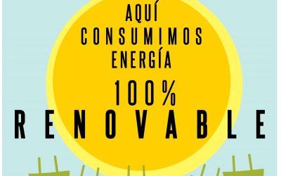 Nuestro compromiso con las energías renovables.
