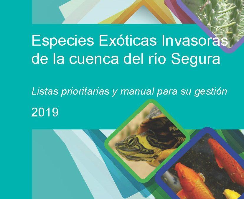 """BIOCYMA contribuye a la publicación """"Especies Exóticas Invasoras de la cuenca del río Segura. Listas prioritarias y manual de gestión"""""""