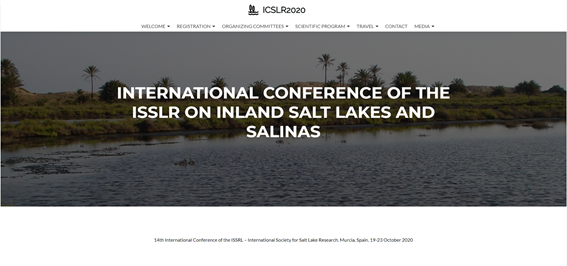 BIOCYMA organiza por encargo de la Sociedad Internacional para el estudio de los Lagos Salados (International Society for Salt Lake Research) su 14º Congreso Internacional en Murcia durante el mes de Octubre de 2020, en esta edición dedicado a los lagos salados y salinas. http://icslr2020.es